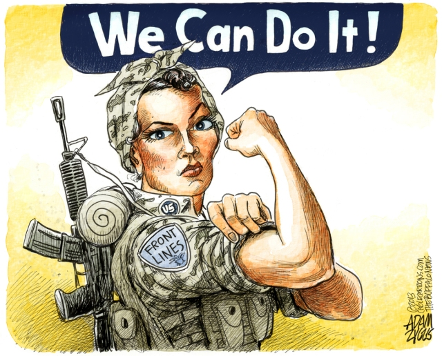 Women on the front lines