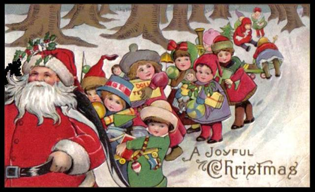 Santa-Claus-and-children